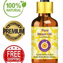 Pure Organic Neem Oil for Skin Hair PREMIUM QUALITY  Virgin 100% Pure Raw Unrefined Cold Pressed 5ML