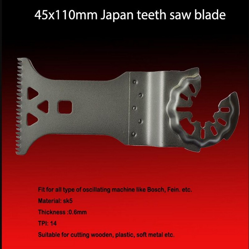 Livraison gratuite de 1PC SK5 acier 45*110mm japonais scie balde pour la plupart des outils oscillants mulitfonctionnel pièces de rechange remplacer