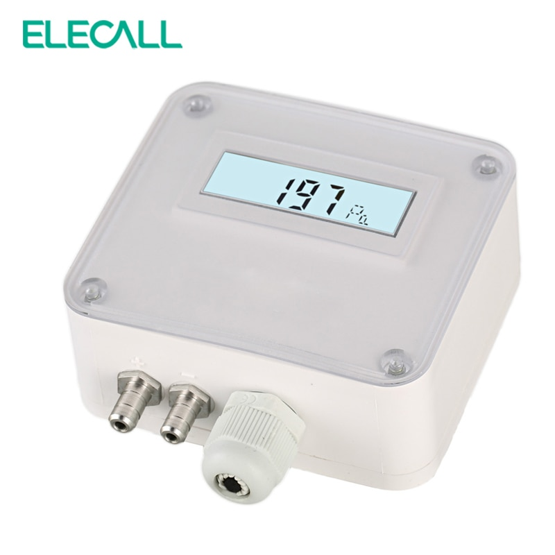 ELM110/112/116 مايكرو ناقلات ضغط مختلفة الهواء الضغط الارسال استشعار الضغط 100-1000pa