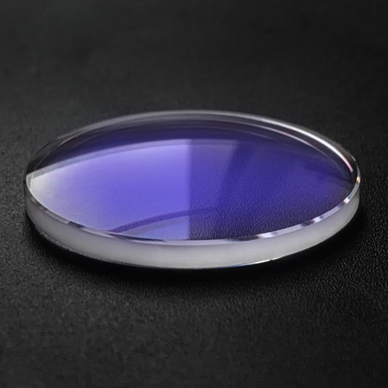 MOD Monster-cristal de zafiro de doble cúpula, 30x4,3mm, para Seiko, SKX031, SRP307K1,...