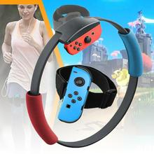 2020 nuevo anillo-Con para Nintendo Switch Fitness Ring Fit Adventure Sport juego ajustable elástico pierna Correa deporte Yoga Fitness