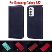 flip cover for samsung galaxy a82 case phone protective shell funda on samsung a82 a 82 wallet leather magnetic card book case