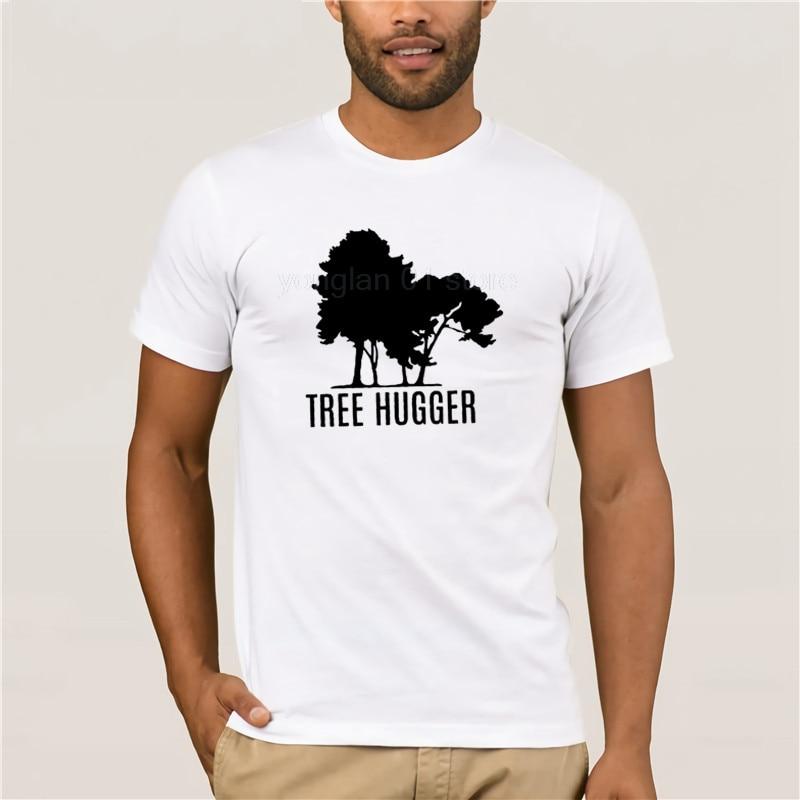 Camiseta blanca de manga corta para hombre, camiseta para Hugger, Camiseta informal...