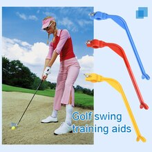 1pcs Golf Swing Trainer Beginner Gesture Alignment Golf Wrist Control Swing Training Aid Posture Gui