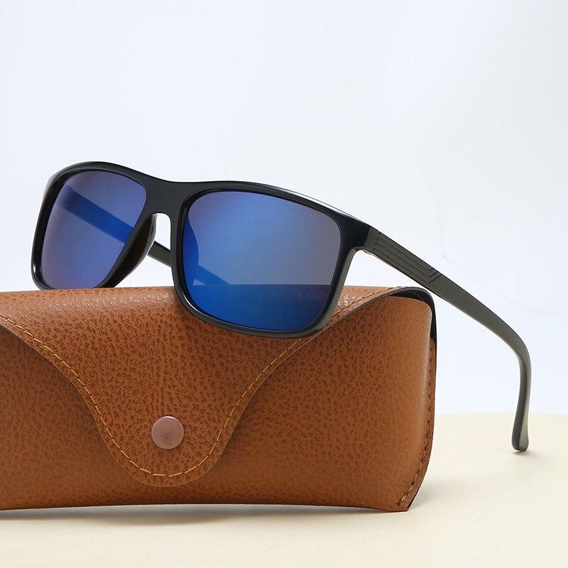 Модные брендовые дизайнерские солнечные очки, мужские и женские солнцезащитные очки квадратные пластиковые рамки класса люкс на открытом ...