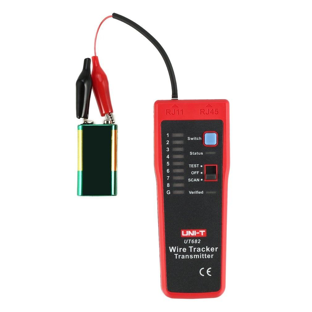 Rastreador de cables RJ11 RJ45 buscador de líneas de alambre Lan probador herramienta de prueba de cables de mano para mantenimiento de red Dropshipping