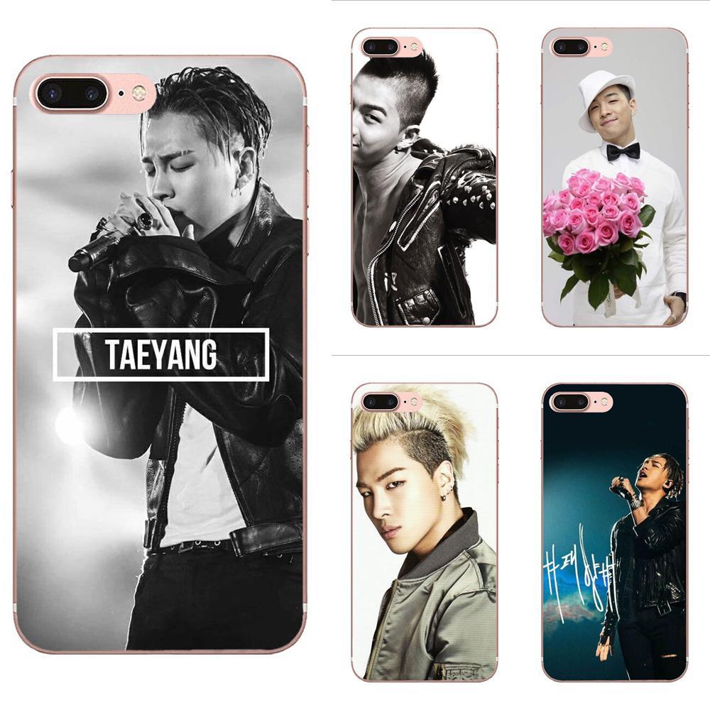 Casos bonitos de Telefone Para Galaxy Alpha Nota 10 Pro A10 A20 A20E A30 A40 A50 A60 A70 A80 A90 M10 M20 M30 M40 Bigbang Taeyang