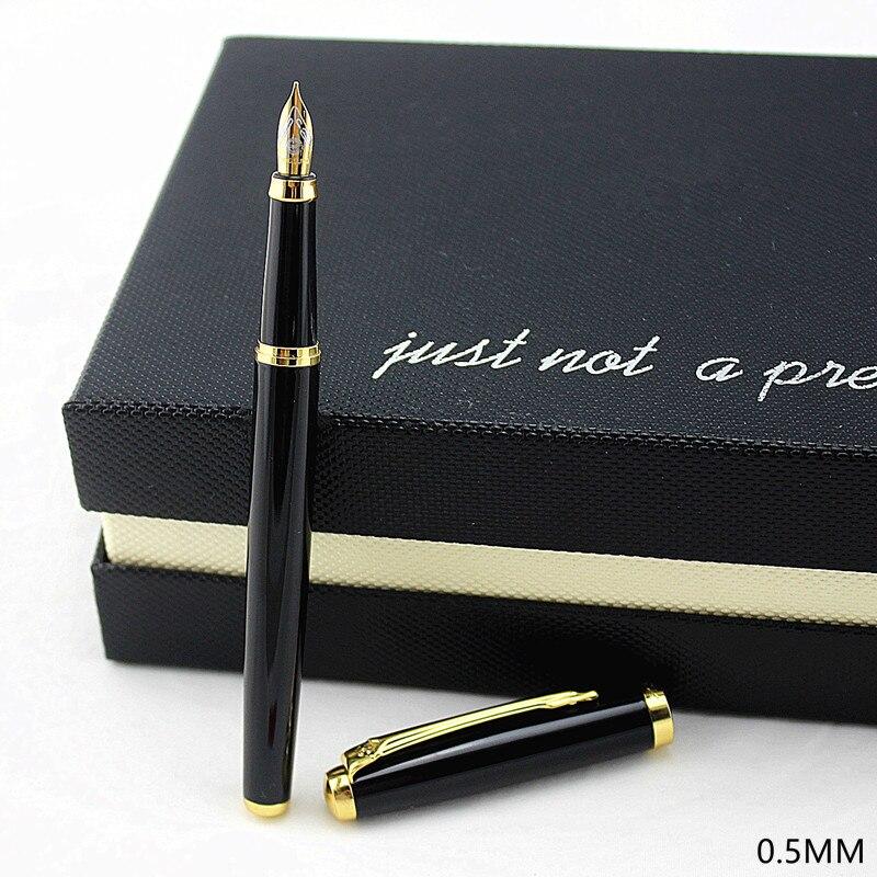 Ручка перьевая чернильная, черная/синяя, 0,5 дюйма