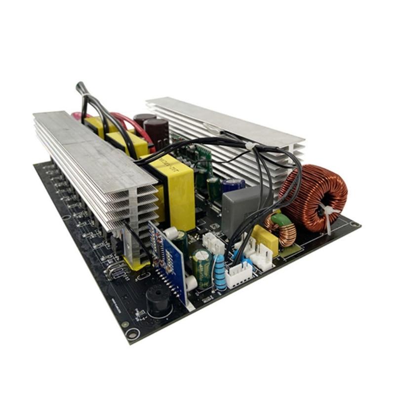 72XD 110 فولت/220 فولت محول طاقة 2000 واط 12 فولت/24 فولت/48 فولت موجة جيبية نقية لوحة محول التردد