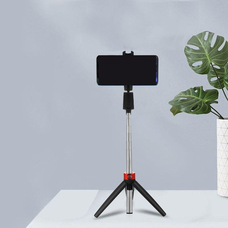 Palo de Selfie 3 en 1 inalámbrico, Bluetooth, trípode para teléfono móvil, palo de Selfie integrado, Bluetooth, mando a distancia para Xiaomi