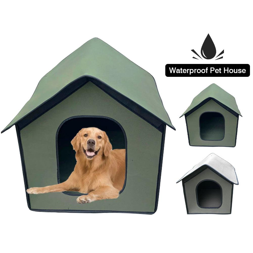 AliExpress - Pet Outdoor House Waterproof Weatherproof Cat House Foldable Pet Shelter for Pets droshipping