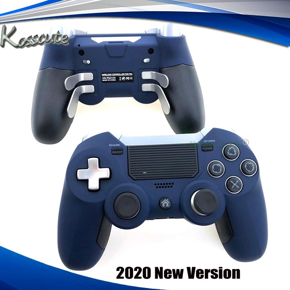 وحدة تحكم بلوتوث لاسلكية لـ PS4 ، وحدة تحكم ألعاب Elite مزدوجة الاهتزاز للكمبيوتر الشخصي ، وحدة تحكم ألعاب الفيديو