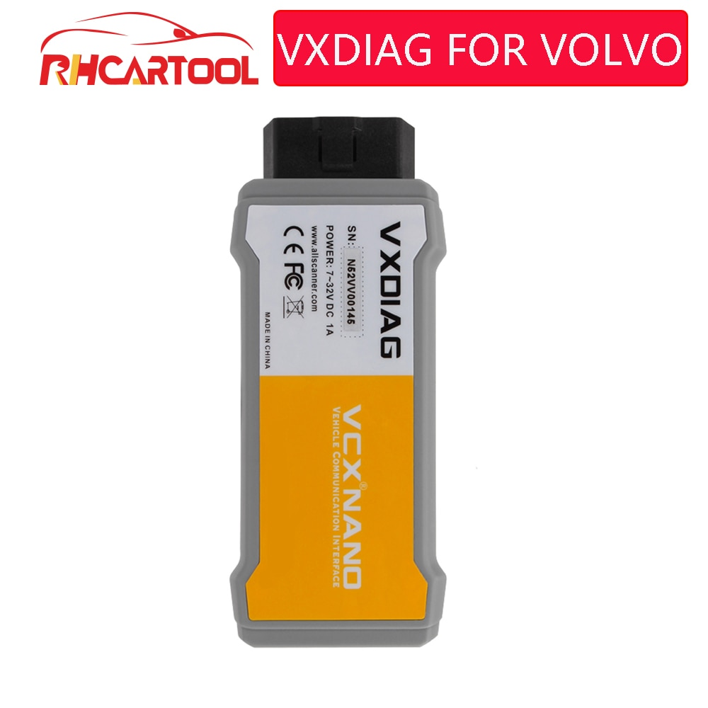 OBD2 Vxdiag Original para Volvo Vida Dice 2014D idiomas completos herramienta de diagnóstico profesional del coche para volvo Dice Pro envío gratis