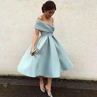 simple plus size prom party evening dresses vestido de noiva sereia gown boat neck robe de soiree prom party satin pleat dress