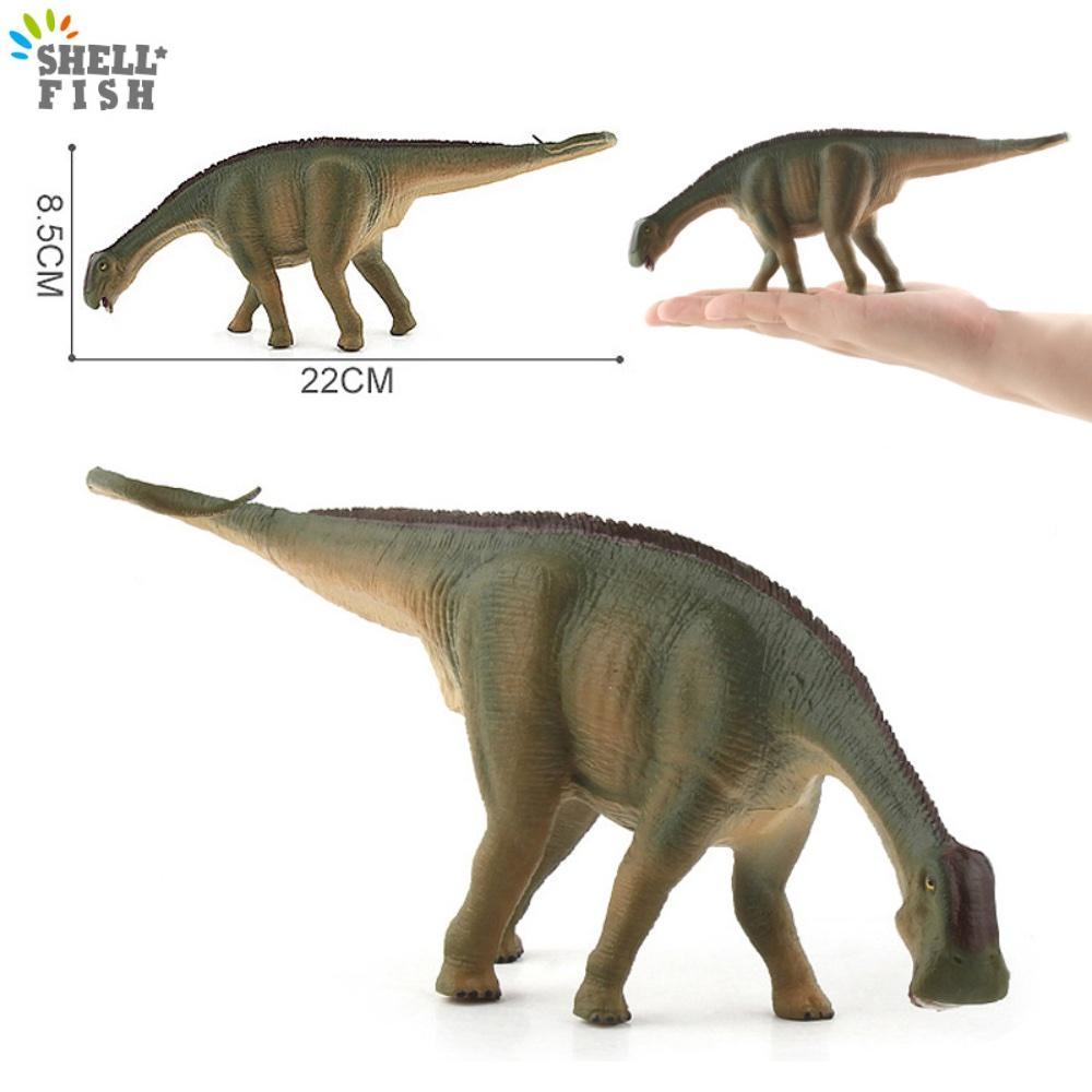 big size cute simulation fox toy resin Simulated Animals Toys Big Size Simulation Jurassic Dinosaur Nigersaurus Figures Model PVC Plastic Educational Toy For Kids