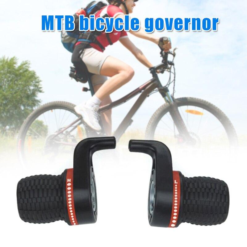 4 Uds. Palanca de cambios de bicicleta, palanca de cambios de bicicleta de montaña, manillar de bicicleta, palanca de cambio de giro compatible con manillar de 22mm BHD2