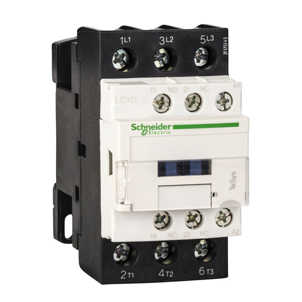 LC1D38 LC1D38F7 LC1D38F7C TeSys D contactor-3P(3)-AC-3 - <= 440 V 38-110 V AC 50/60Hz