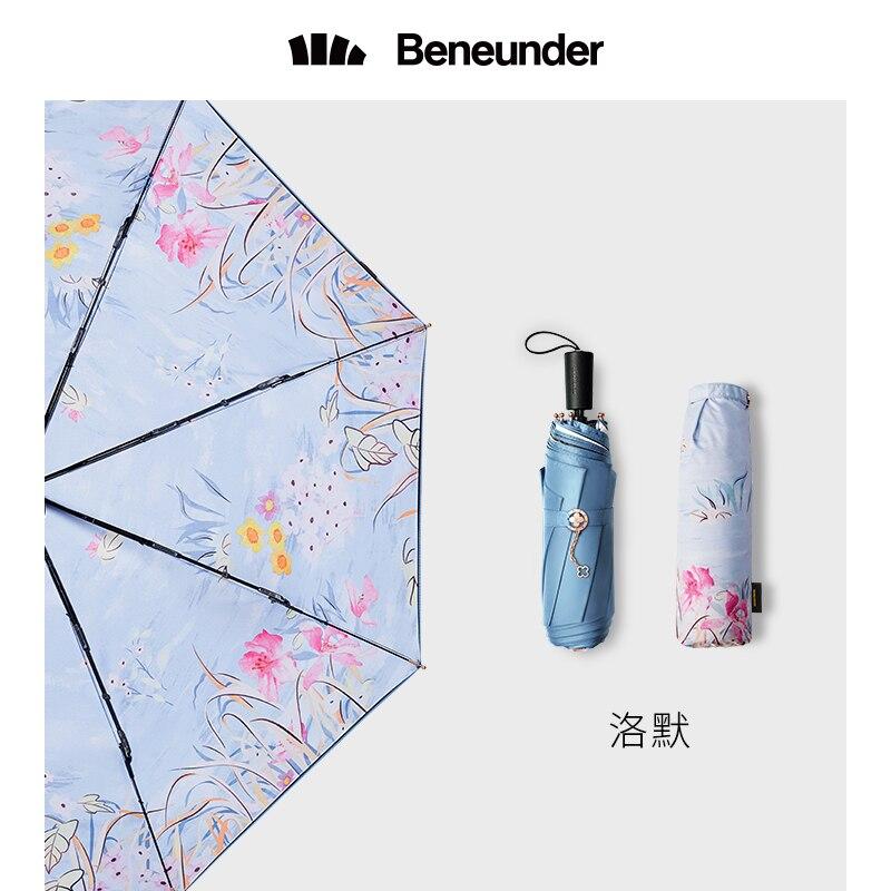 Summer Double Sunscreen Anti Uv Umbrella Car Outdoor Folding Large Academy Sun Umbrella Rain Women Parapluie Home Garden BW50UM enlarge