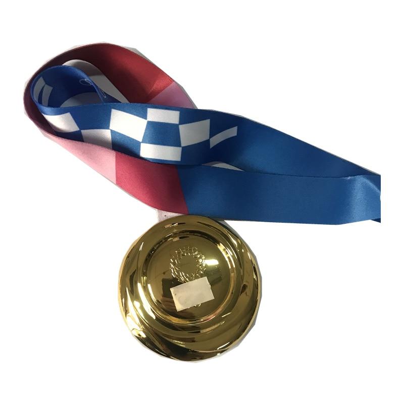 Ограниченные медали, сувениры, золотые, серебряные, бронзовые медали, коллекция, значок Спортивного игрока с лентой, Реплика медали футболь...