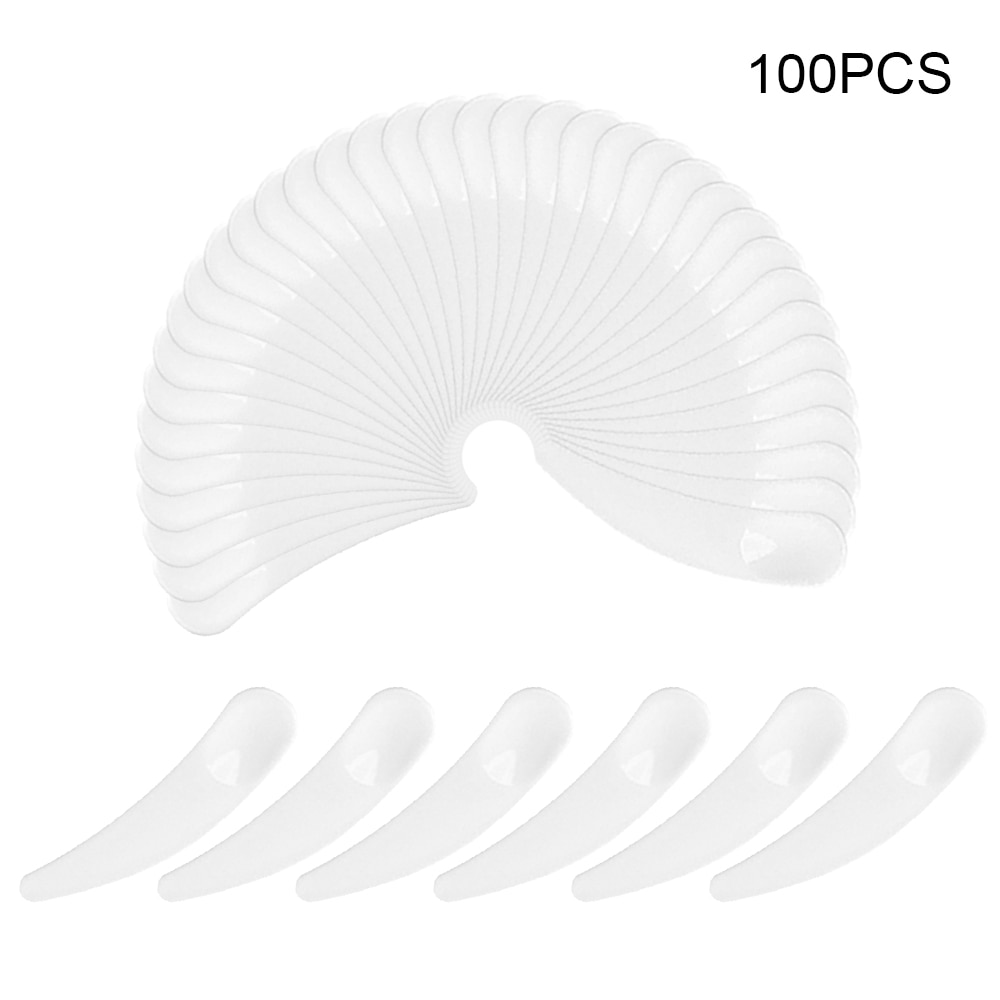100 Pçs/lote Plástico Máscara Facial Vara DIY Caseiro Creme Misturando Espátulas Colher Maquiagem Beleza Ferramentas de Cosméticos