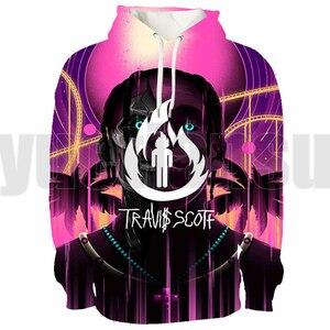 Hip Hop Travis Scott Hoodie Men 3D Lounge Wear Tour Streetwear ASTROWORLD Sweatshirt Oversized Anime Velvet Pullover Teenager