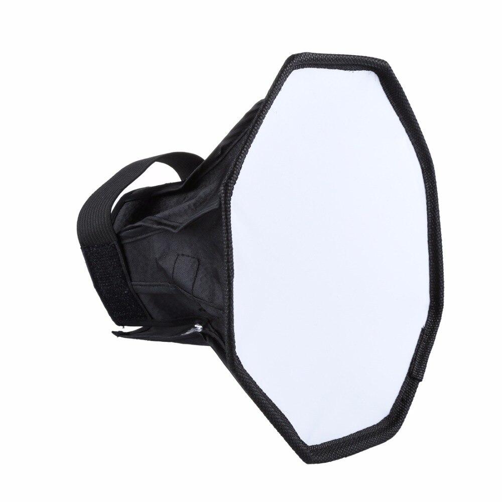 Difusor de Flash plegable Universal Softbox profesional Mini foto difusor caja de luz suave para cámara Canon Nikon Sony