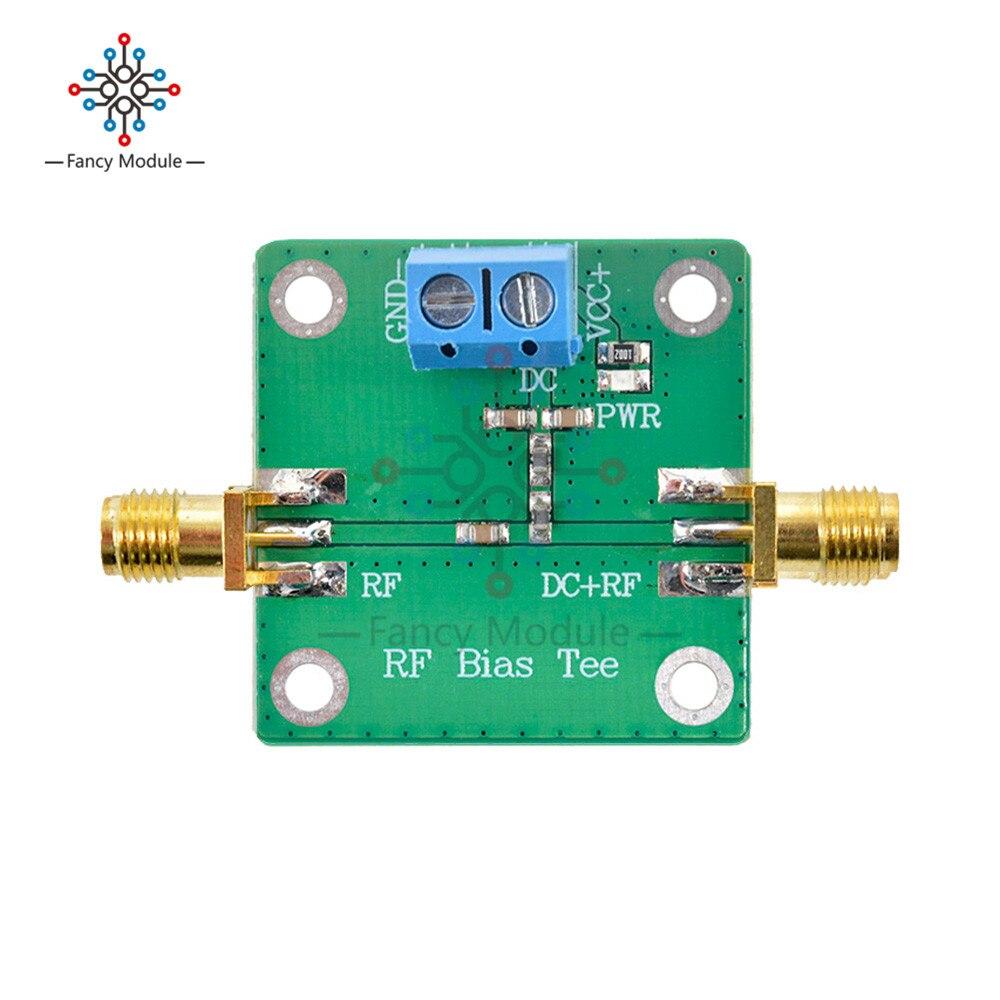 diymore 10-6000mHz Bias Tee Module RF DC Blocks Connecting Modes for HAM Radio RTL SDR LNA Low Noise Ham Radio Amplifier