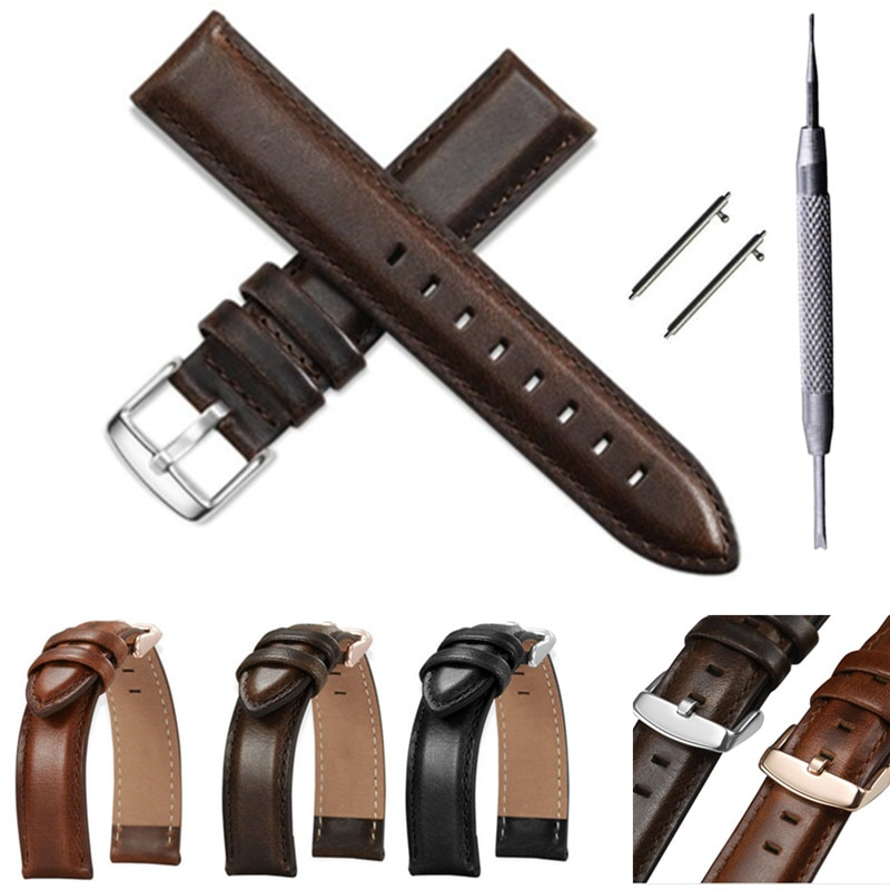 Watch Accessories Quick Release Watchbands 18 20 22 mm Genuine Leather Watch Strap For DW daniel wellington Watch Band