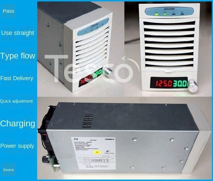 ZTE-مزود طاقة قابل للتعديل zxd2400 ، شاحن بطارية ليثيوم للمركبة الكهربائية ، 48V60V72V ، عالمي ، سريع
