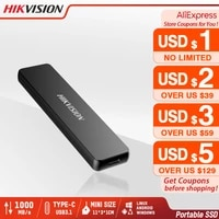 hikvision portable ssd 512gb external ssd 1tb disk drive 256gb ssd usb3 1 type c gen2 solid state disk pc replace hdd