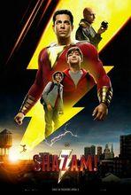 K030 Shazam!  2019 Movie Zachary Levi  DC Comics Film Wall Sticker Silk Fabric Poster Art Indoor Decor Bright