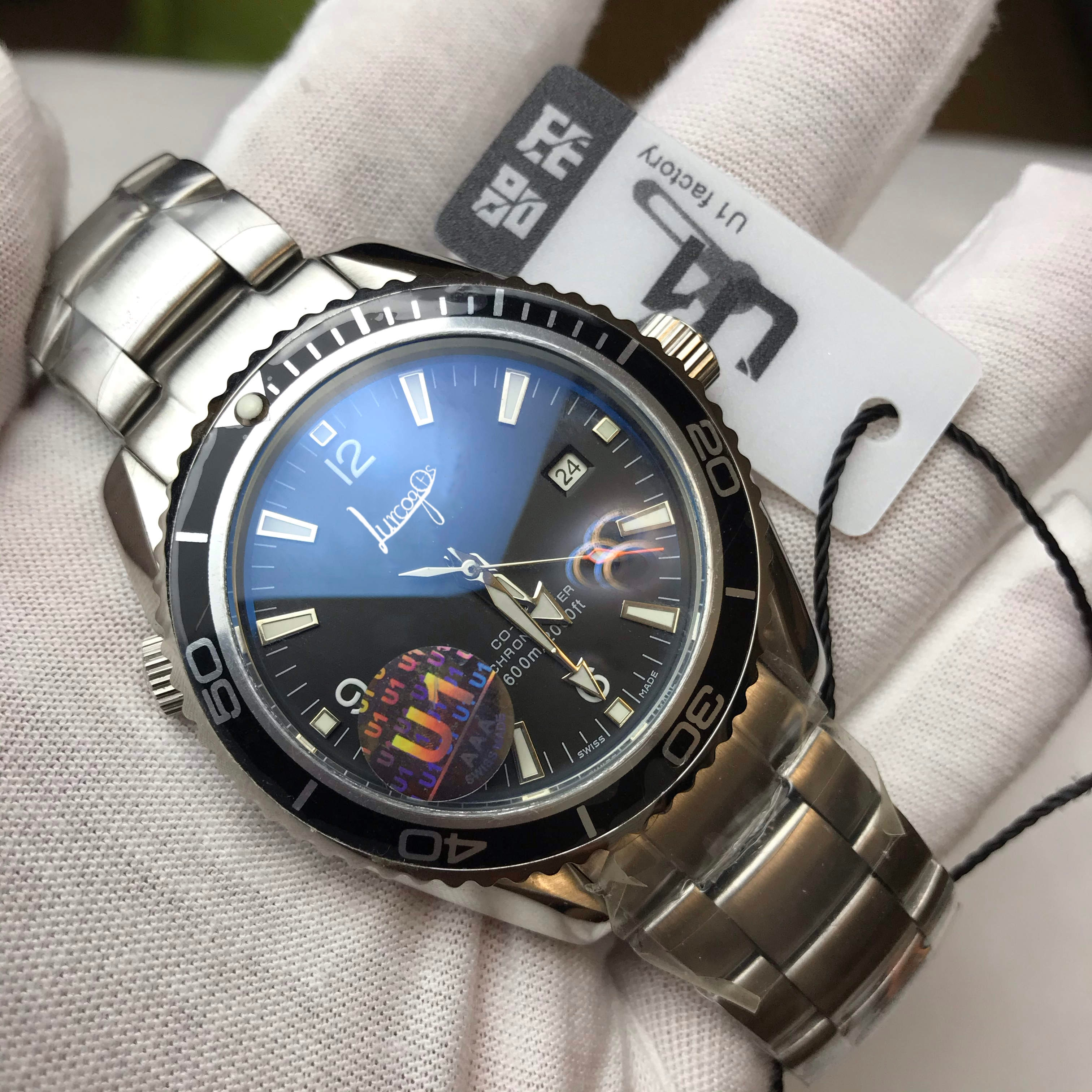U1luxury aaa o-mega relógio velocidade homem mestre automático movimento arrebatador relógios de luxo