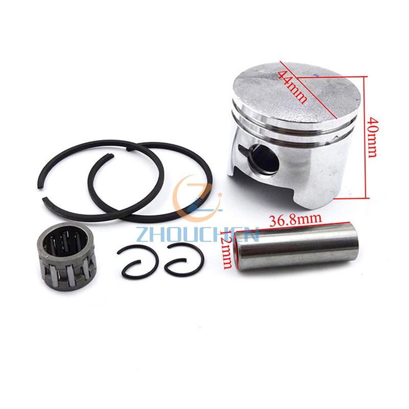 40mm pistón 10mm anillo rodamiento de agujas para 2 tiempos 47cc motor Minimoto bolsillo de la bici de la suciedad niños Mini ATV Quad