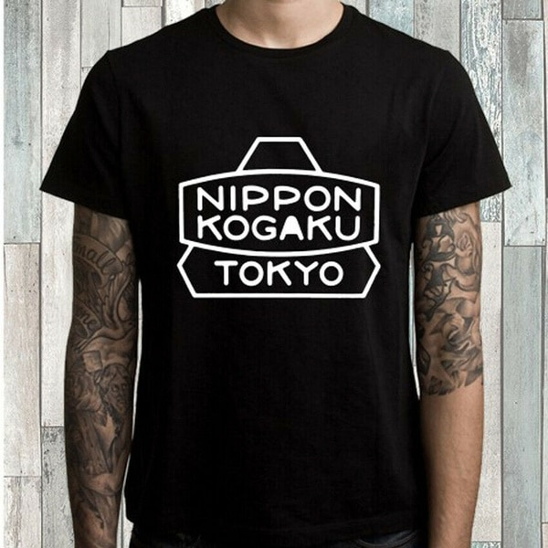 Nippon Kogaku Tokyo Logo Men's Black T-Shirt Size S M L XL 2XL 3XL футболка carhartt s s college script t shirt black white xl