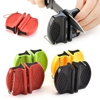 portable small safe knife sharpener tool for kitchen easy for the outdoor sharpening hiking cubre bocas lavable