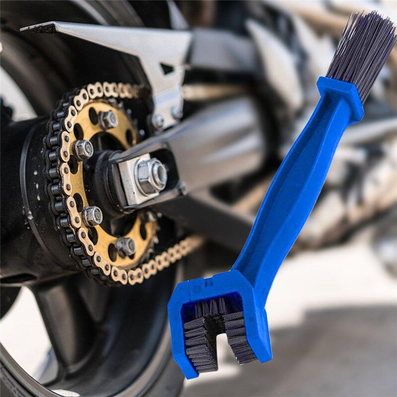 Auto voiture accessoires universel soin de la jante pneu nettoyage moto vélo engrenage chaîne entretien nettoyant saleté brosse outil de nettoyage