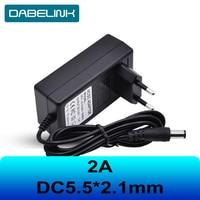 Зарядное устройство 16,8 в, 21 в, 8,4 в, 12 В, зарядное устройство постоянного тока 12,6*5,5 мм, 2 А, 2,1, зарядное устройство для IP-камеры, CCTV, зарядное уст...