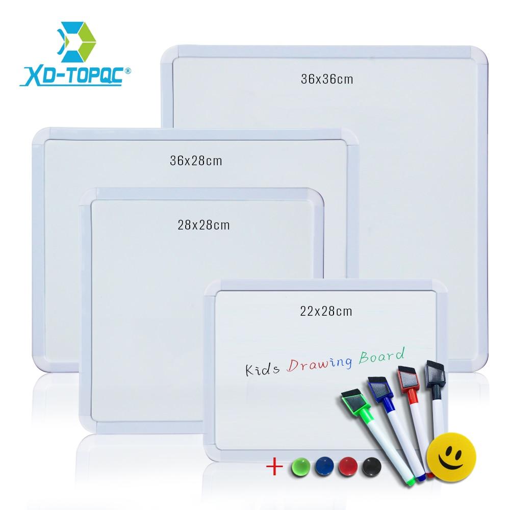 Магнитная доска с пвх рамкой, белая доска для рисования сообщений на холодильник, Круглый угол, декоративная доска для рисования сообщений ...