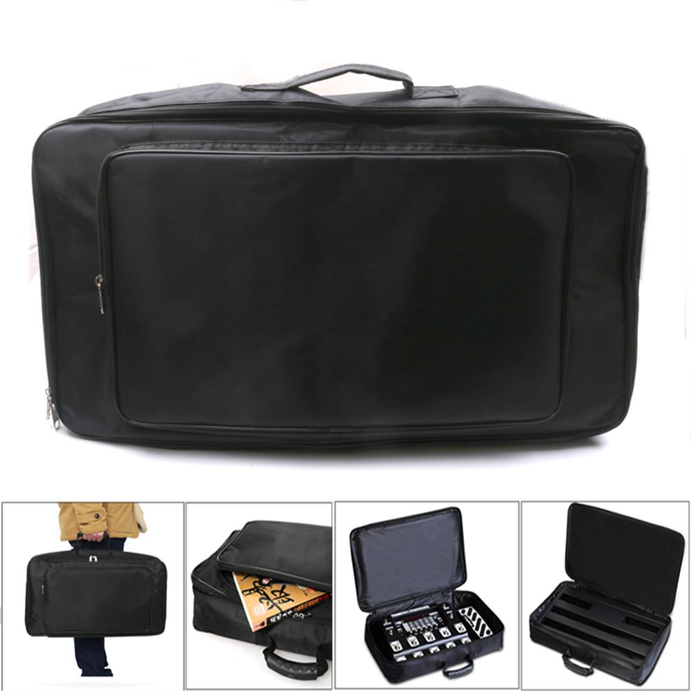 Universal Portable Guitar Effects Pedal Board Gig Bag Soft Case Big Style DIY Guitar Pedalboard Pouch enlarge