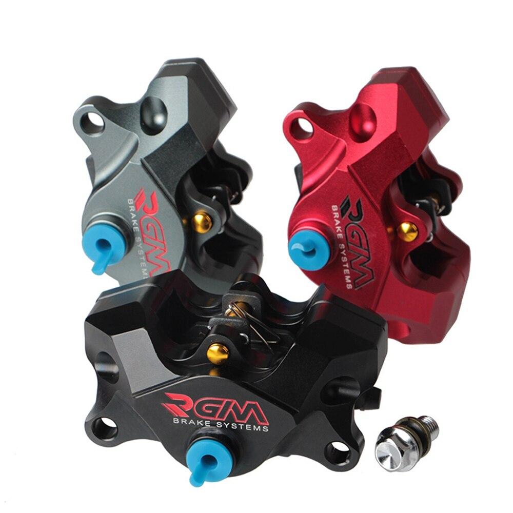 Pinza de freno trasero para motocicleta RGM, bomba de freno, 84mm * 32mm 2 pistones, montaje Axial para Yamaha Kawasaki Ducati Honda Suzuki Modify