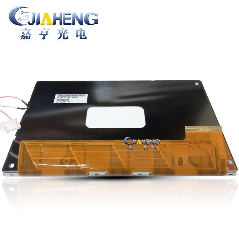 Original 7,0 pulgadas tft panel de pantalla LCD A070VW01 V0 A070VW01V0 pantalla lcd 100% prueba