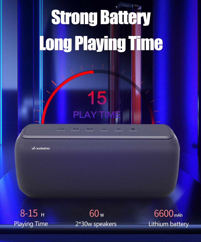 60W Bluetooth Speaker Wireless Boombox Big Power Portable Subwoofer Waterproof Soundbar  for Computer Soundbar Voice Assistant enlarge
