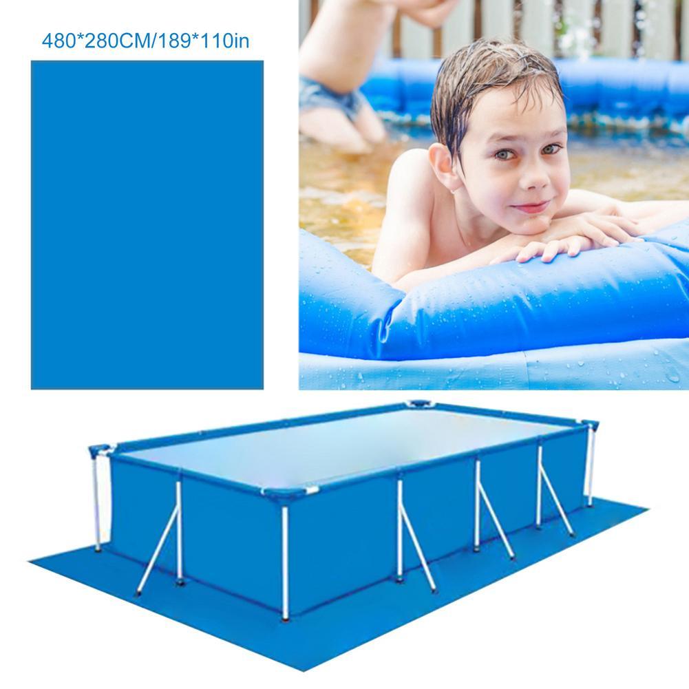 480X280cm бассейн брезент площади пола купания коврик для бассейна над землей Матрасы для бассейнов непромокаемые Пылезащитный чехол пыле пол