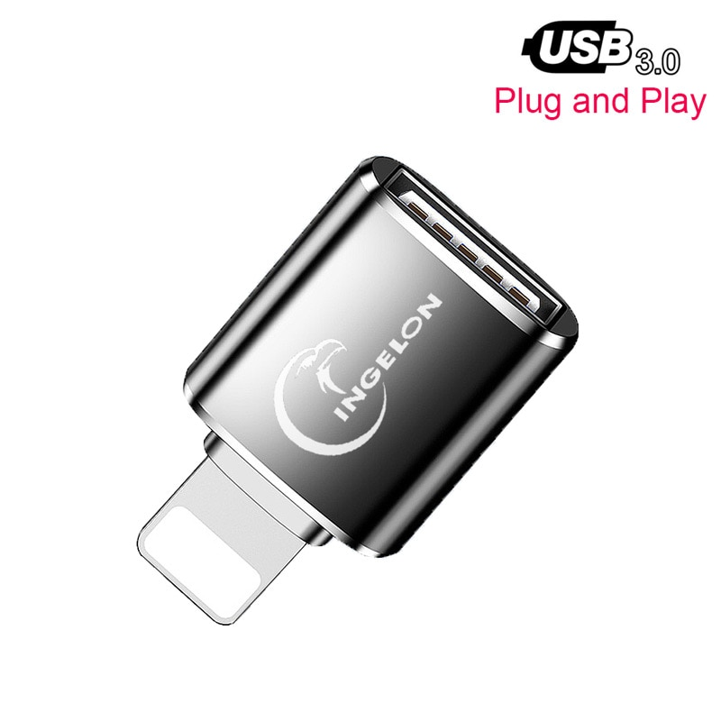 OTG Card Reader to Camera Adapter 3.0 for Lightning USB Cable Converter Electric Piano MIDI Keyboard for iphone 7 8 ios 13 ipad