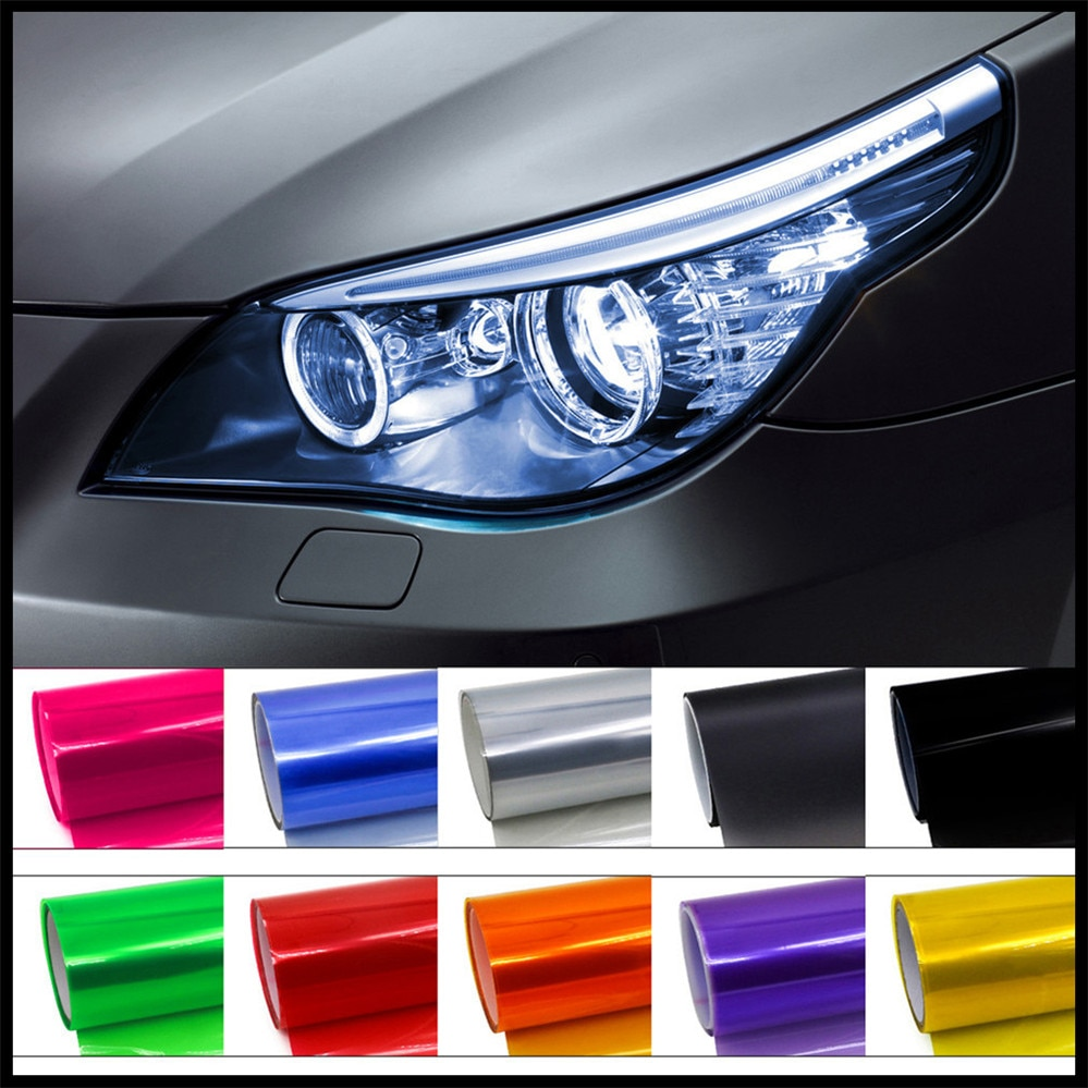 Car HeadLight lamp tial Light Decor Vinyl Film Sticker Decal for Honda Pilot Insight HR-V CR-V Odyssey Jazz Fit