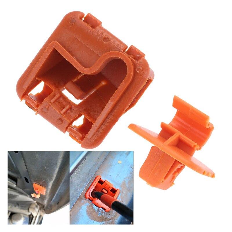 1 u0823570a, 1 conjunto/paquete, capó de plástico para el coche, soporte de varilla, Clip de hebilla para Skoda Fabia Octavia MK2 2004-2012 2013