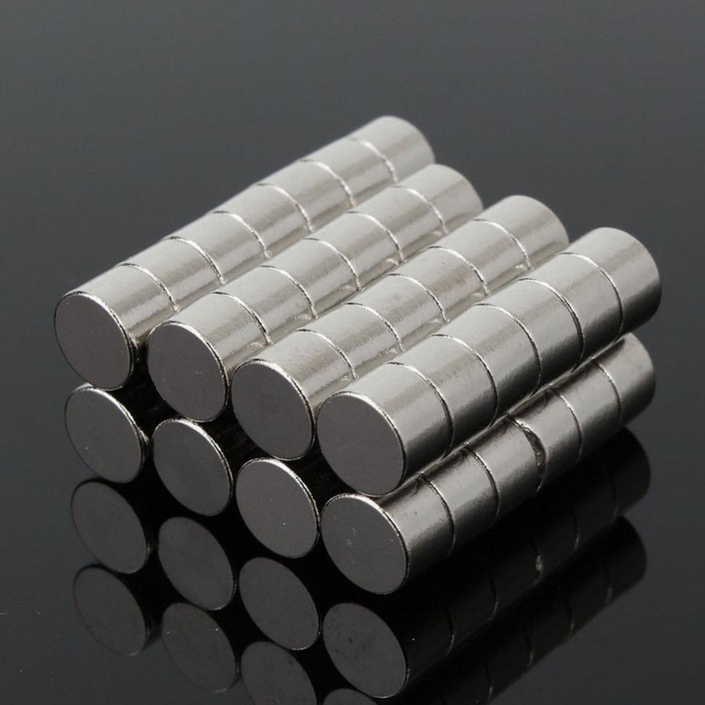 iman imanes 2015 special offer new magnets neodymium disc 2 pcs lot n50 block super strong rare earth f40x40x20mm 50Pcs 6x4mm N50 Super Strong Round Disc Blocks Rare Earth Neodymium Magnets Fridge Crafts For Acoustic Field Electronics