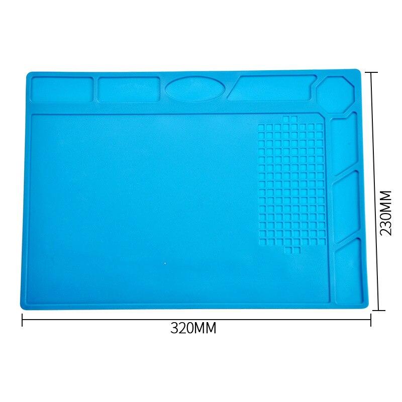 Šilumos izoliacijos darbinis kilimėlis 30 * 20cm, karščiui - Suvirinimo įranga - Nuotrauka 4