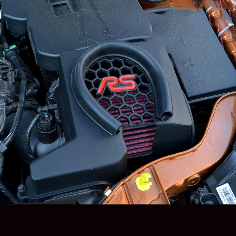 Lsrtw2017 abs motor do carro rs entrada de ventilação capa isolamento térmico guarnições para ford kuga escape focus mk3 2013 2014 2015 2016 2017 2018