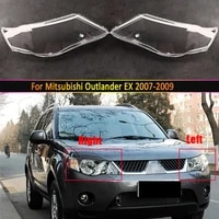 headlamp lens for mitsubishi outlander ex 2007 2008 2009 headlight cover replacement front car light auto shell